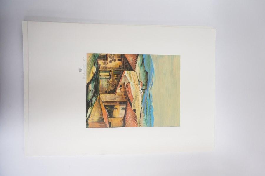 Pierre LETELLIER (1928-2000). 10 Lithographies prêtent à être encadrées de Pierre Letellier.