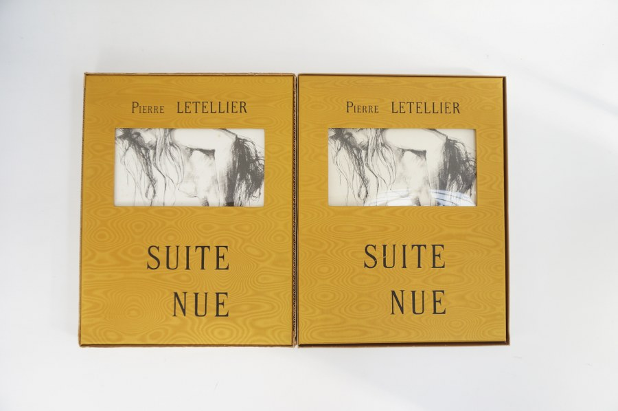 Pierre LETELLIER (1928-2000). 2 volumes ''suite nue''.