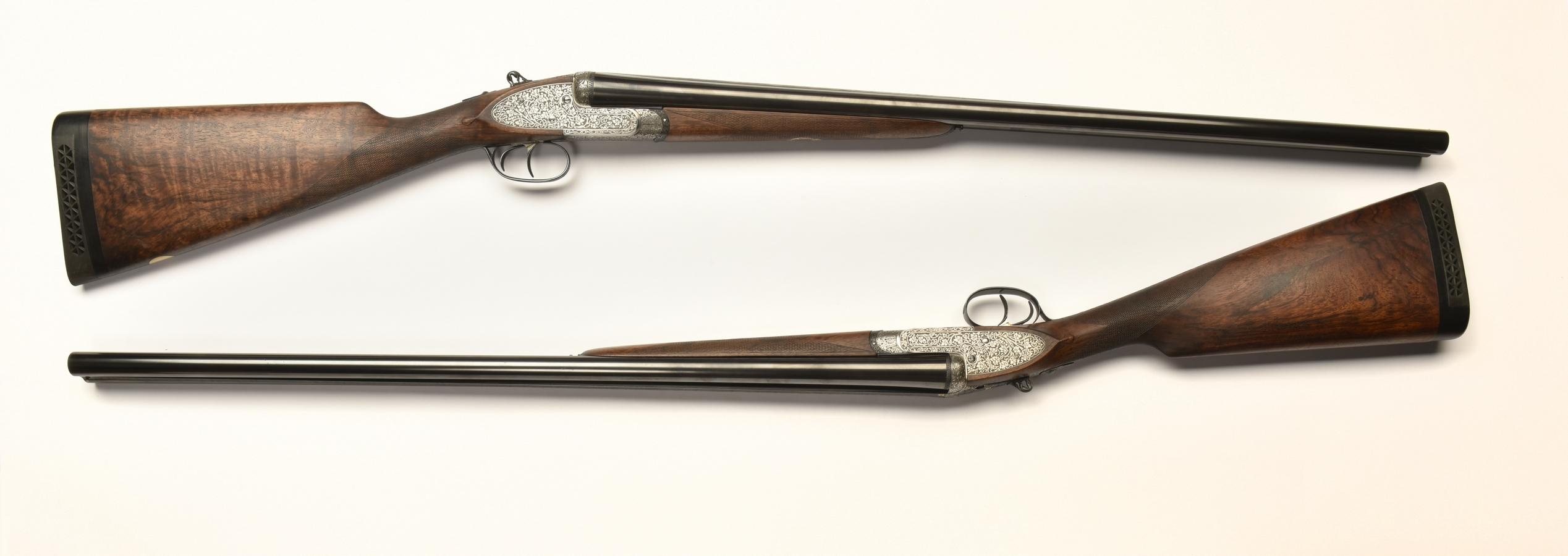 Paire de fusils de chasse