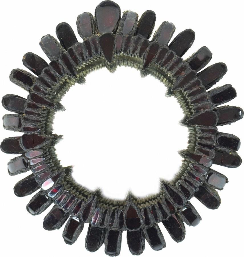 Miroir sorcière circulaire modèle « Gribiche ».